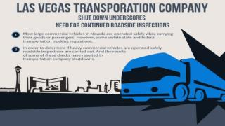 Las Vegas transporation company shut down underscores need for continued roadside inspections