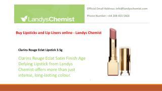 Buy Lipsticks and Lip Liners online - Landys Chemist