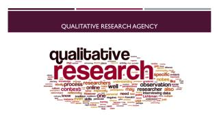 What to Look For When Hiring Indian Qualitative Research Agency