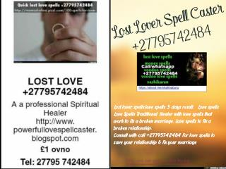 loSt Love Spell Caster In Johannesburg. sandton,Northgate, Honydew,lenasia   27795742484 & Cosmo