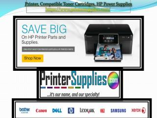 Company History - Printer Supplies