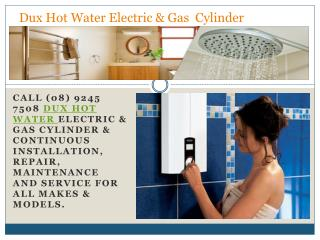 Dux Hot Water Electric & Gas  Cylinder