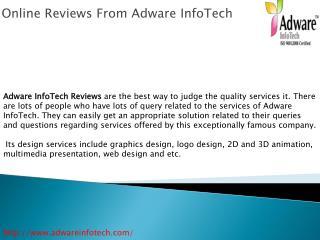 Online Reviews Adware Infotech