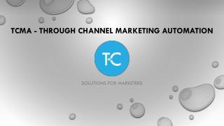 Through-Channel Marketing