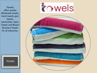 Best Spa and Resort Pool Towels