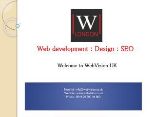 Web Development Company Aylesbury - Web Vizion