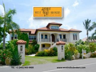 View Beautiful Properties on Sale in Cayman Islands by West Indies Brokers