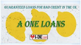 Bad Credit Loans Provide Ideal Financial Backup