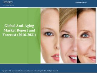Global Anti-Aging Market Report and Forecast (2016-2021)