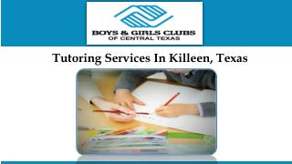 Tutoring Services In Killeen, Texas