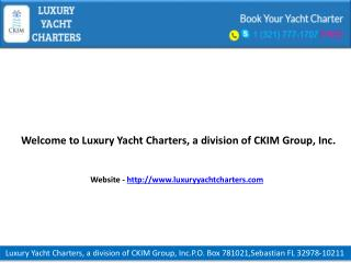 Cannes Luxury Yacht Charter