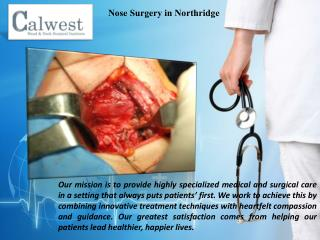 Head and Neck Surgery provider
