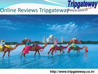Online Reviews Tripgateway