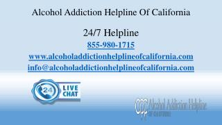 Alcohol Addiction Helpline Of California