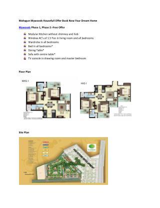 House full Offer Mahagun Mywoods Noida Extension