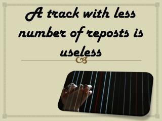 Buy SoundCloud Reposts- Buysoundcloudlikes