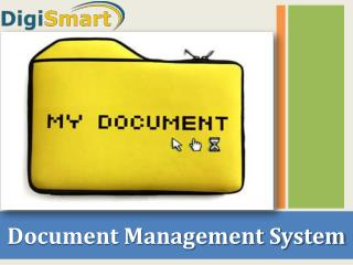 Document Managemnt System in India