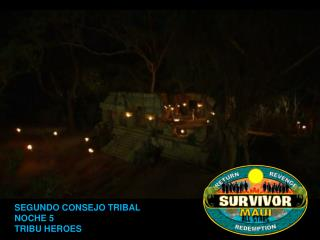 Survivor Maui All Stars Consejo 2.
