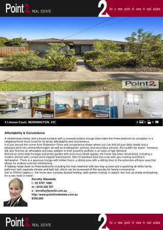 4 Limosa Court House for Sale in Mornington Peninsula