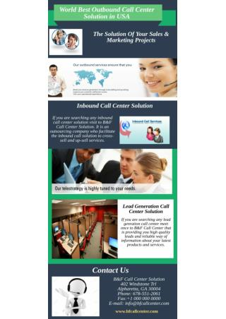 World Best Outbound Call Center Solution in USA