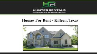 Houses For Rent - Killeen, Texas