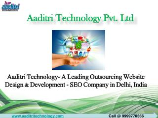 Outsource Website Design & Development - SEO Company in Delhi