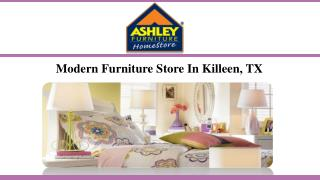 Modern Furniture Store In Killeen, TX