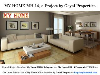 Ongoing Residential Homes in My Home MH 14 Pune for Sale