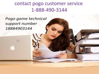 pogo games customer service phone number 1-888-490-3144