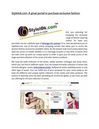 Lehnga Choli Online