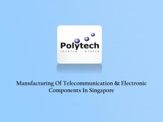 Electronic Components Manufacturers