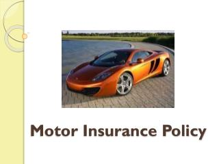 Best Performance Motor Insurance Cost