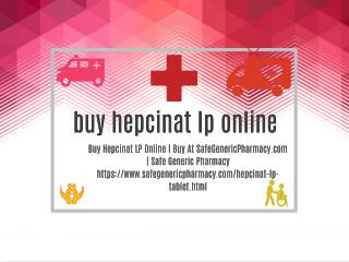 Buy Hepcinat LP Online | Buy At SafeGenericPharmacy.com | Safe Generic Pharmacy