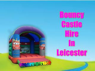 Bouncy Castle Hire in Leicester