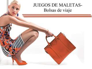 JUEGOS DE MALETAS-Bolsas de viaje