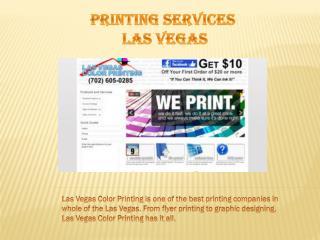 Las Vegas Best Printing Companies