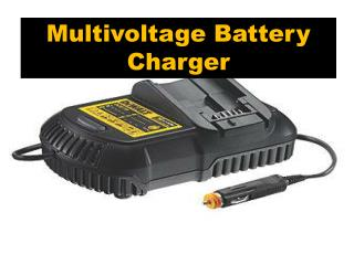 Get Online Multivoltage Battery Charger