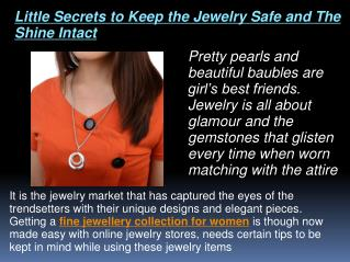 fine jewellery collection for women