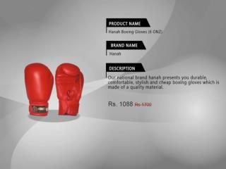 Buy hanah boxing gloves online