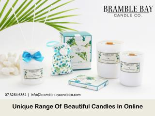 Unique Range Of Beautiful Candles In Online