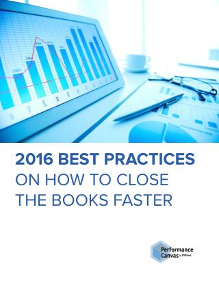 2016 Best Practices On How To Close The Books Faster