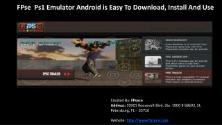 Download PS 1 Emulator for Android