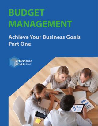 Budget Management: Achieve Your Business Goals Part One
