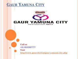 Gaur Yamuna City Modern Living
