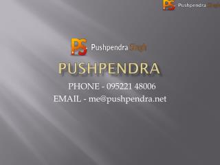 Hire Freelance Magento Developer - Pushpendra.net