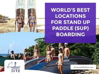 World's Best Location to Enjoy Stand Up Paddle Boarding