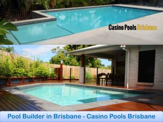 Pool Builder in Brisbane - Casino Pools Brisbane