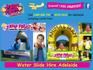 Water Slide Hire Adelaide