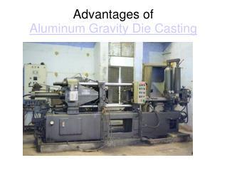Advantages of Aluminum pressure die casting