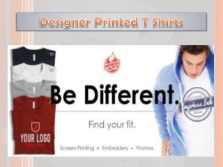 Designer Printed T Shirts
